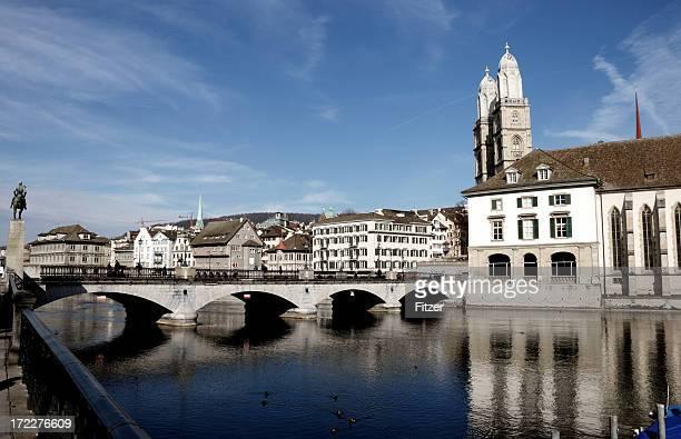 Zürich Fluss limat