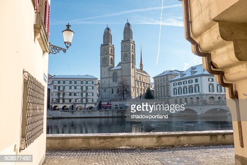 Zurich, Switzerland : Stockfoto