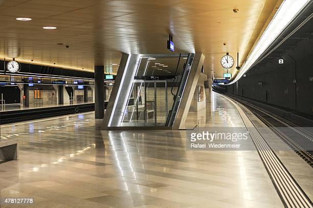 Zürich-U-Bahn-Plattform