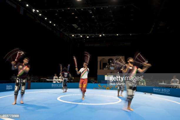 4th Islamic Solidarity Games Team Afghanistan in action during Men's Team Skills Group competition at Baku Crystal Hall 2 Baku Azerbaijan 5/20/2017...