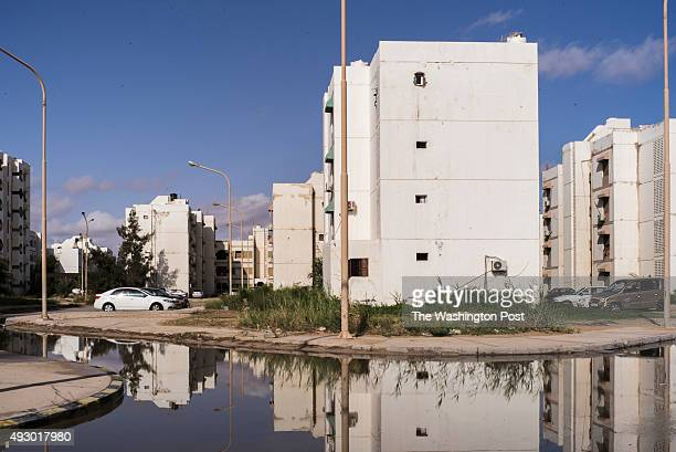 A view of the city of Zuwara after heavy rain that flooded its streets Zuwara is one the most important starting points in Libya for boats of...