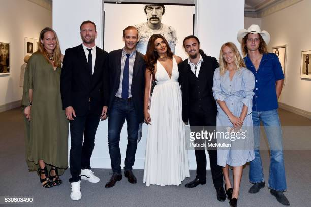 Zuzanna Buchwald Spencer Koral William Avedon Priyanka Chopra Michael Avedon Zippora Seven and Terence Connors attend the Guild Hall 2017 Summer Gala...
