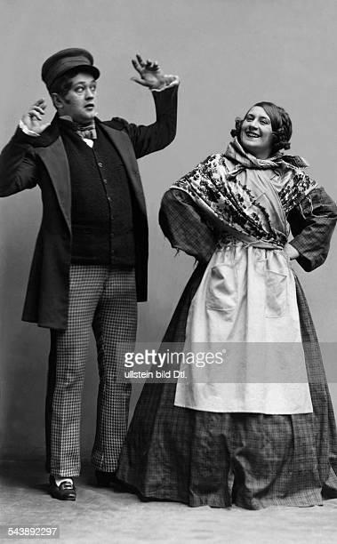 Zwerenz Mizzi Actress Singer Austria*13071876 nee Maria Anna Zwerenz married Guttmann as Lini Stoeckl and actor Josef Koenig as Franz Stelzer in 'Alt...