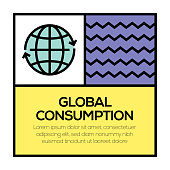 GLOBAL COMSUMPTION ICON CONCEPT