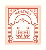 MEETING ICON CONCEPT