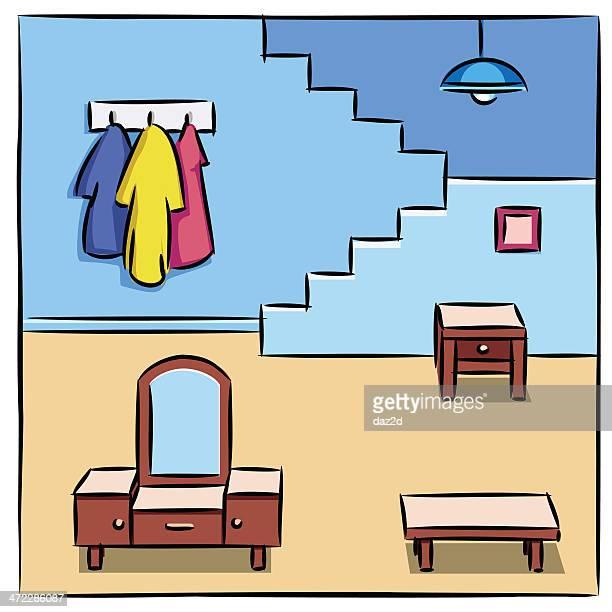 Illustrations Et Dessins Anim S De Chambre Bien Rang E Getty Images