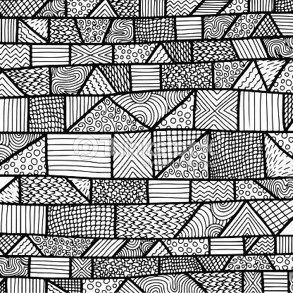 emm l lignes de motif noir blanc 2 clipart vectoriel. Black Bedroom Furniture Sets. Home Design Ideas