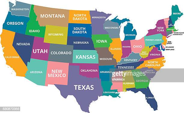 Map Of Gulf Coast States Stock Photos and Pictures | Getty Images