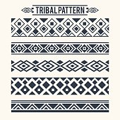 Ethnic Tribal Pattern Decoration