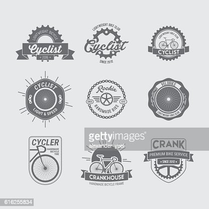 BICYCLE LOGO COLLECTION : Vector Art