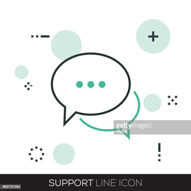 SUPPORT LINE ICON