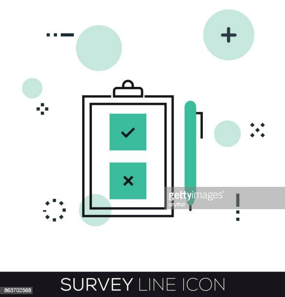 SURVEY LINE ICON