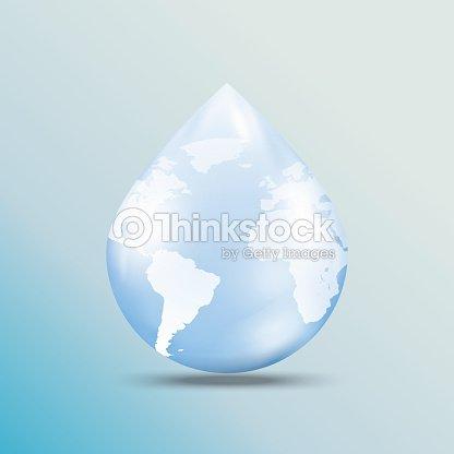 02world map on water drop shape vector art thinkstock world map on water drop shape vector art gumiabroncs Gallery