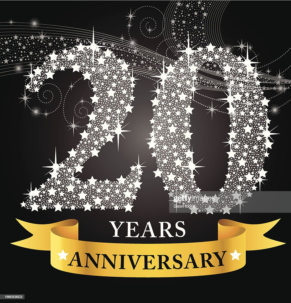 Th anniversary vector art getty images
