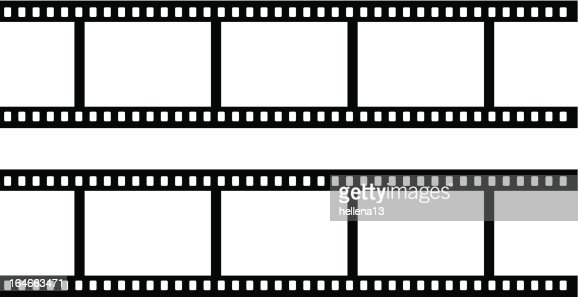 35mm film strip : Vector Art