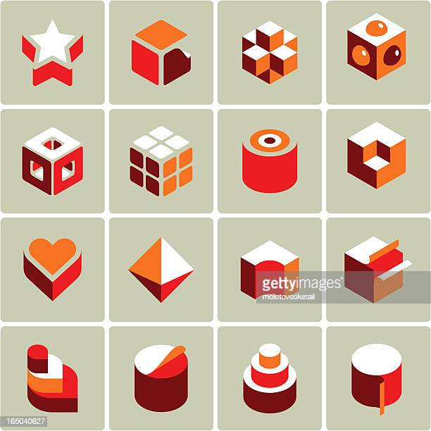 3d icons (vector)