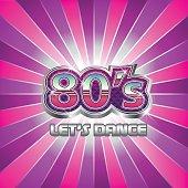 80s Dance Party illustration