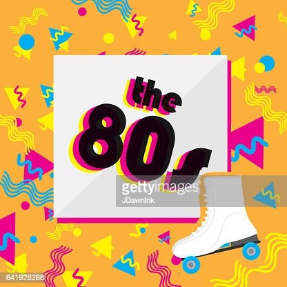80s Designs 80s designs vector art | getty images