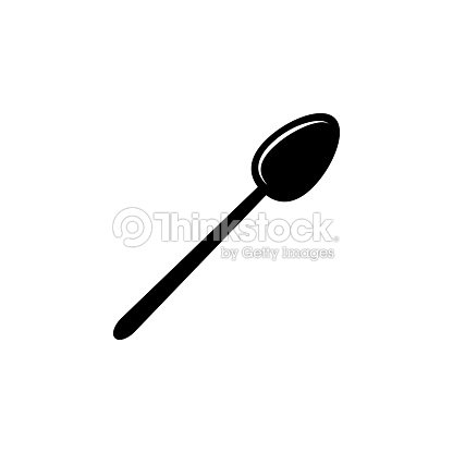 A Spoon Icon Elements Of Kitchen Tools Icon Premium Quality Graphic