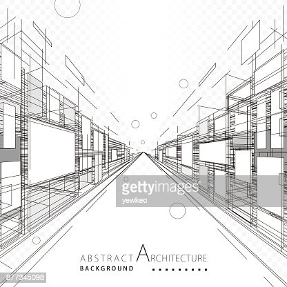 Abstrait Architecture et Design : Clipart vectoriel