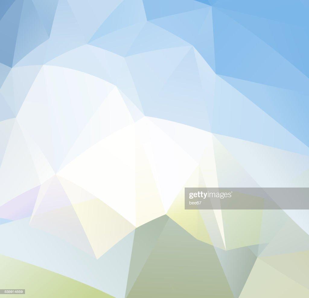 Fundo abstrato compostos de triângulos : Arte vetorial