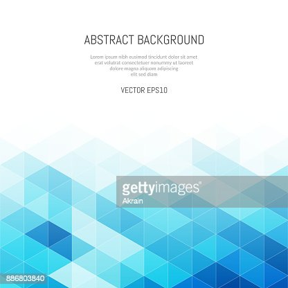 Abstract background of triangles. Geometric texture. : Vector Art