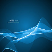 Abstract background with soft lines. Template for cover, business reports, layout, poster, web design, websites.
