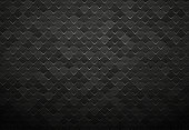 modern style abstract black metal tile background