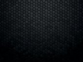 modern style abstract black texture background hexagon
