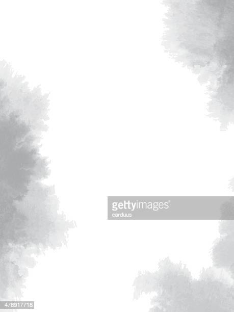 Abstrait aquarelle fond noir