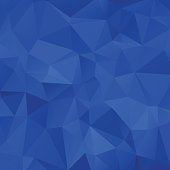 abstract blue background with triangle. vector illustration