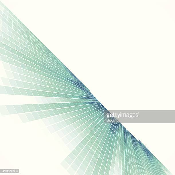 abstract blue check style data technology background