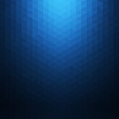 Abstract blue geometric background. Polygonal Mosaic. Creative design templates