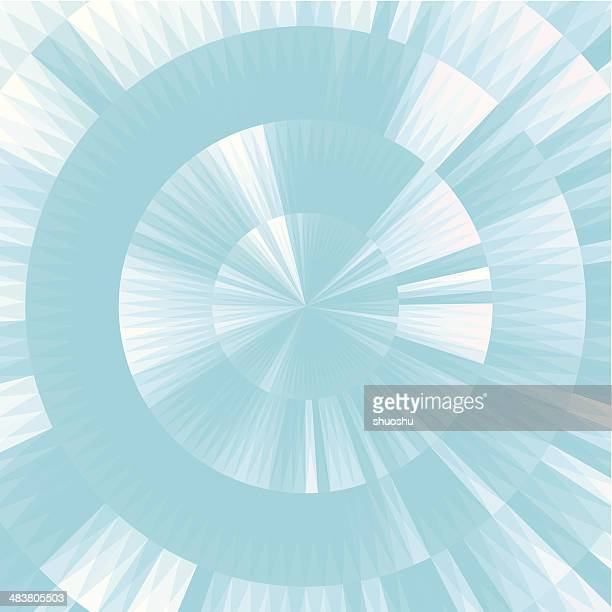 Abstracto azul fondo de forma de tira estilo redondo
