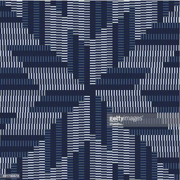 Abstrakte blauen Streifen Muster Hintergrund
