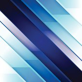 Abstract blue triangle shapes background. RGB EPS 10 vector illustration