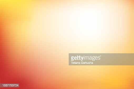 Abstract blurred background in red, orange and yellow tone : arte vettoriale