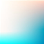 Summer beach colors abstract blurred gradient blue vector background.