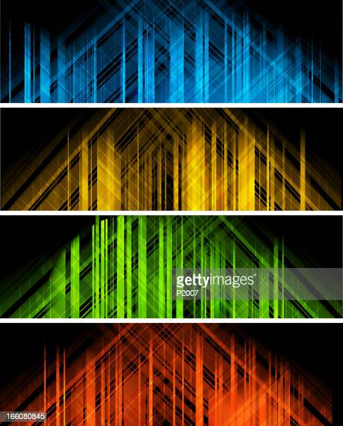 Abstract Building Banners