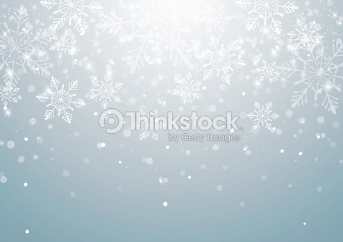 abstract christmas background with snowflakes vector art thinkstock