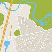City Map, Map, Road Map, Generic Location, Geographical Locations