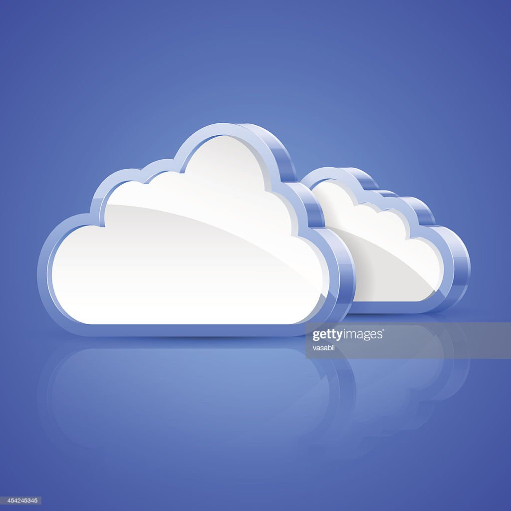 Abstract cloud : Vector Art