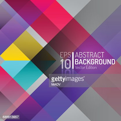 Abstract Color Background Design. Vector Elements. Creative Isolated Wallpaper Illustration : Vector Art