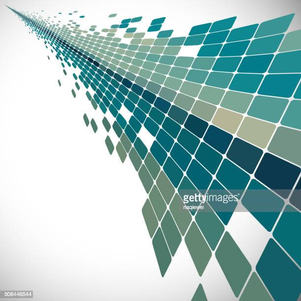 abstract color check pattern background