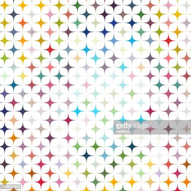 abstract color geometry pattern background