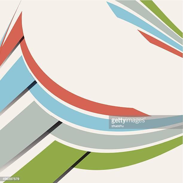 Raya patrón de fondo abstracto de color
