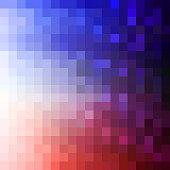 Geometric texture, Halftone effect, Background, Square, Color