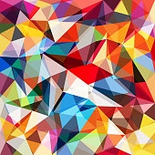 Abstract colorful geometrical background