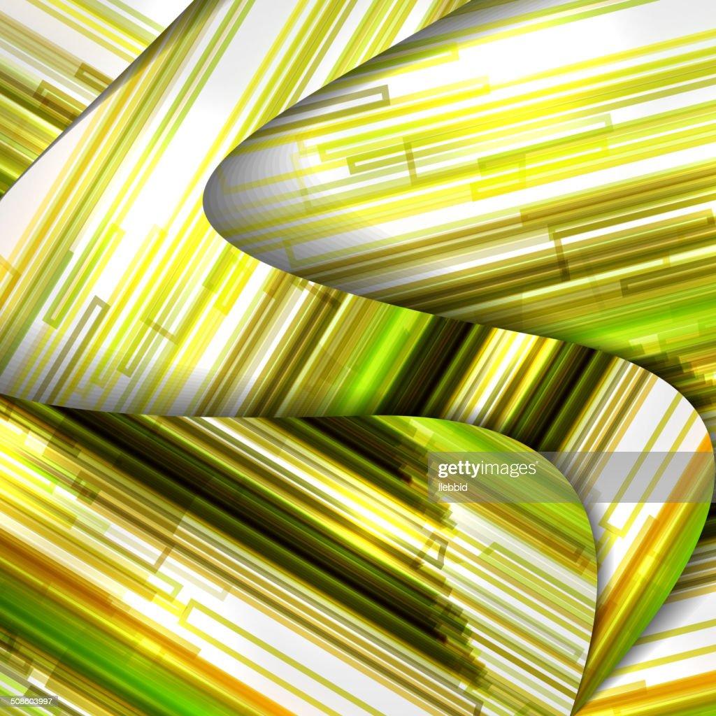 Abstracto colorido medio : Arte vectorial