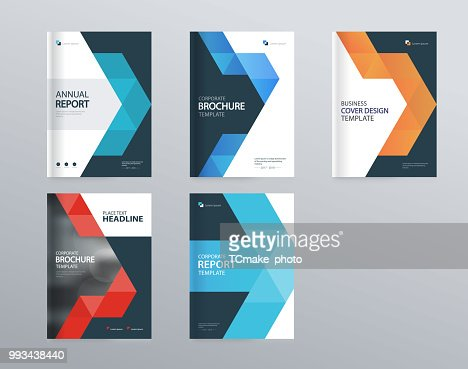 abstract cover design template for brochure, flyer, magazine ,annual report, and presentation . vector for editable. : stock vector